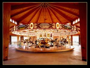 Shelby City Park's Carrousel image by Randy McNeilly